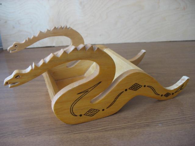 Своими руками из фанеры дракон