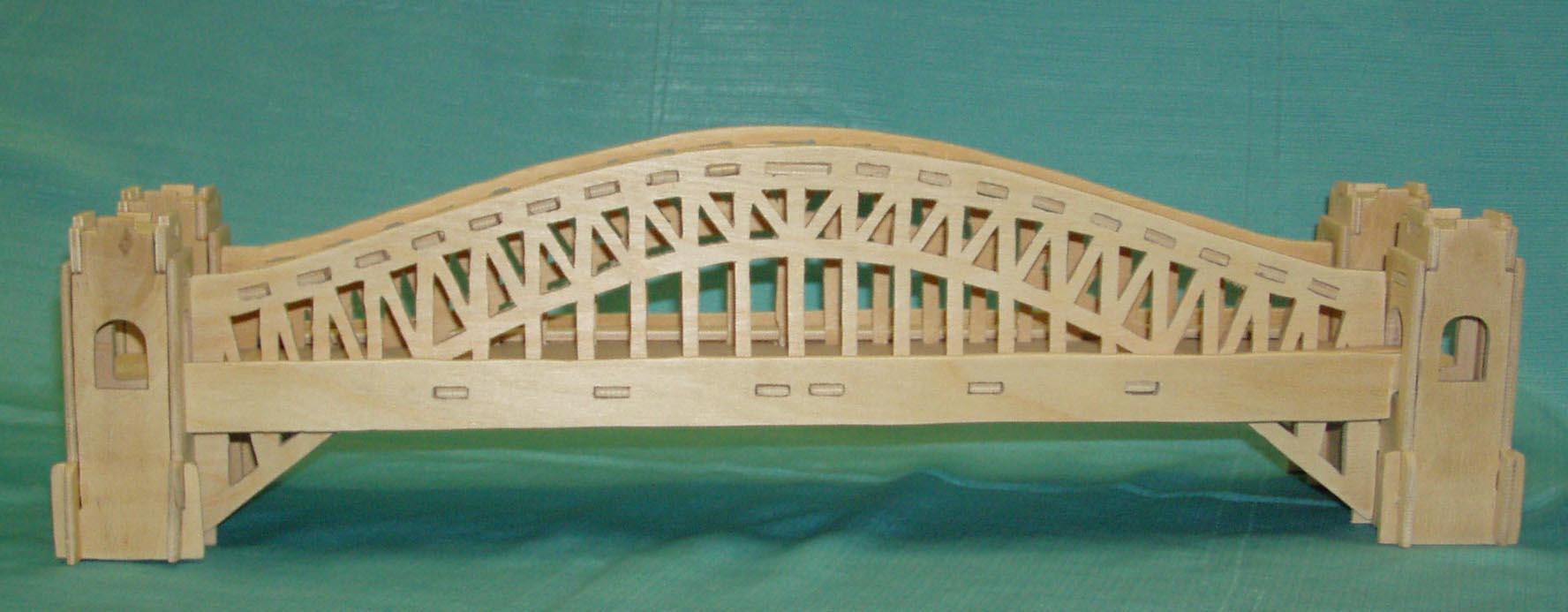 Из чего сделать мостик для поделки 14